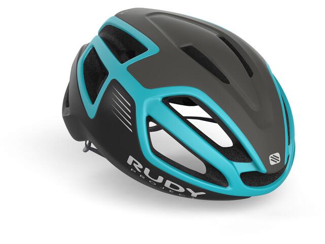 Rudy Project Spectrum Cykelhjälm svart/turkos